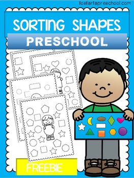 Shape Sorting FREEBIE Bundle