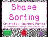 Shape Sorting K.G.2 Circle, Triangle, Rectangle