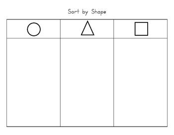 Shape Sorting Mat
