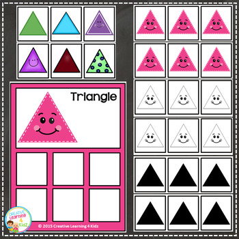 Shape Sorting Identical & Non-Identical