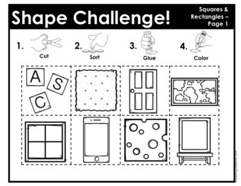 Shape Sorting Mats (Autism and Special Education)