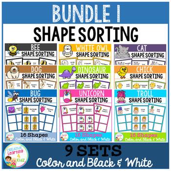 Shape Sorting Mats: Bundle