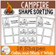 Shape Sorting Mats: Campfire