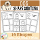 Shape Sorting Mats: Dog