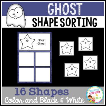 Shape Sorting Mats: Ghost