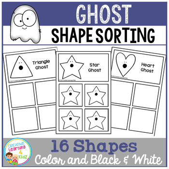 Shape Sorting Mats: Ghost