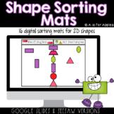 Shape Sorting Mats DIGITAL | Distance Learning