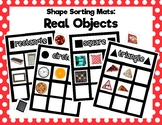 Shape Sorting Mats: Real Objects