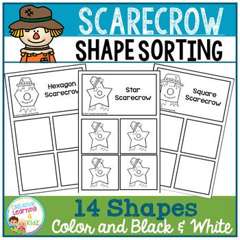 Shape Sorting Mats: Scarecrow