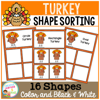 Shape Sorting Mats: Turkey