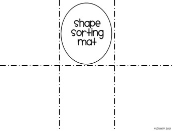 Shape Sorting Mats for Centers