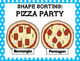 Shape Sorting: Pizza Party