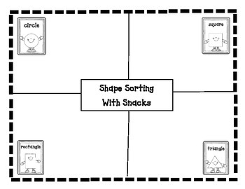 Shape Sorting with Snacks