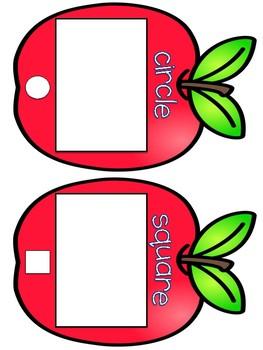 Shape Sorts {Apples}