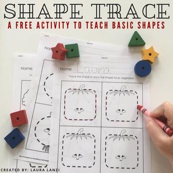 Shape Tracing Freebie