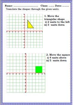 Shape & Space Workbook - Year 4 Mathematics -Geometry