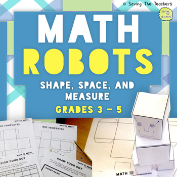 Shape, Space, and Measure Math Robot Challenge