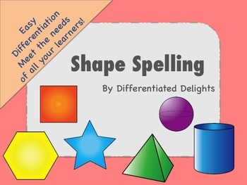 Shape Spelling