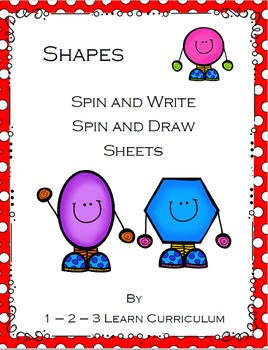 Shape Spin and Write / Spin and Draw Sheets
