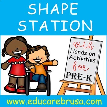 Shape Station, PreK, Special Education, Autism