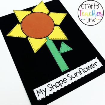 Shape Sunflower Craft