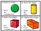 Shape Task Cards 1st Grade