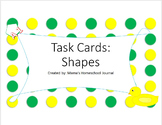 Shape Task Cards
