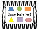 Shape Taste Test