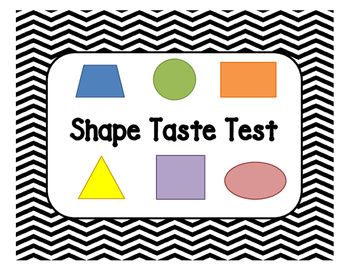 Shape Taste Test