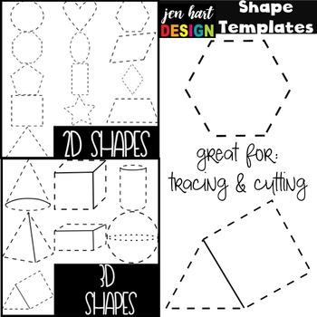 Free Shape Clipart Templates