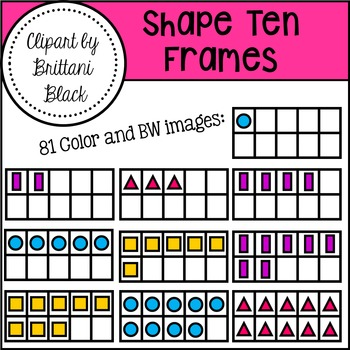 Shape Ten Frames