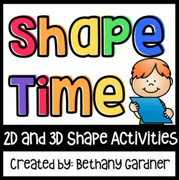 Shape Time! - 2D/3D Shape Activities