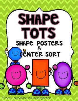 Shape Tots {Shape Posters & Center Sort}