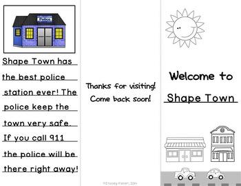Shape Town-Plane Shapes Performance Task
