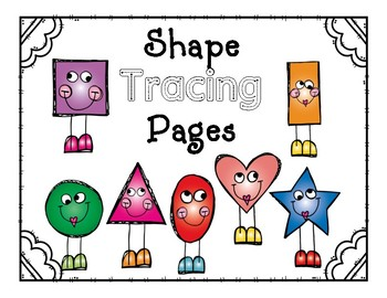 Shape Trace with Poem & Mini Posters