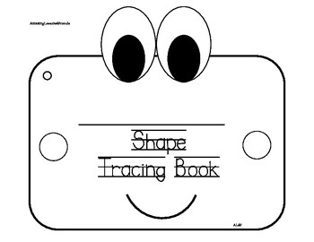 Shape Tracing Book