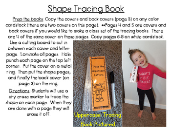 Shape Tracing Book