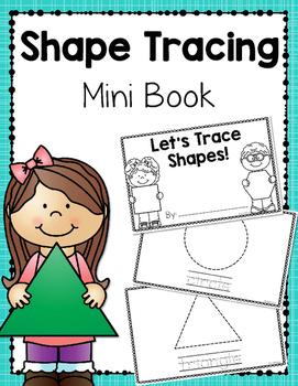 Shape Tracing Mini-Book