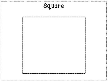 Shape Tracing Pre-Writing Practice Sheets