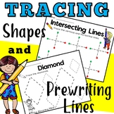 Tracing and Fine Motor Skills | Prewriting Lines and Shapes