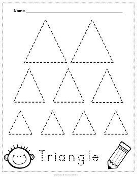 Shape Tracing Worksheets