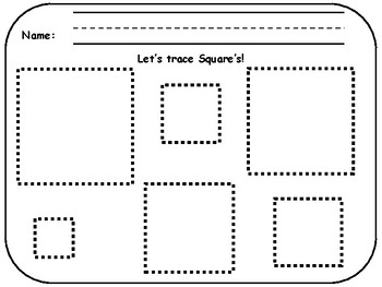 Shape Tracing for Pre-K