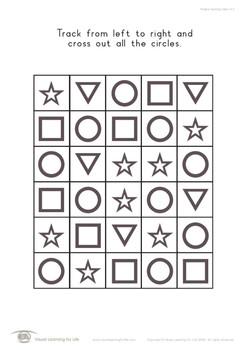 Shape Tracking Basic A, B and C