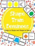 Shape Train Dominoes