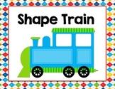 Shape Train (Solid Shape Craft)