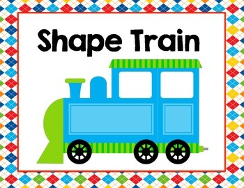 Shape Train (Solid Shape Craft)
