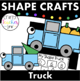 Shape Truck with Pumpkins or Tree Craft