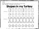 Shape Turkey Craft {2D, Flat Shapes}