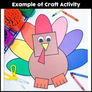 Turkey Craft {Shape Turkey}