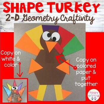 Shape Turkey Craft/Activity